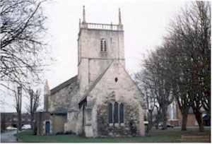 St Mary De Lode Church. Photograph taken 1995